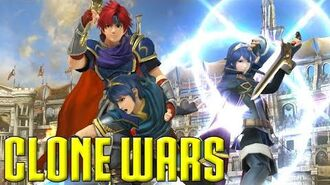 Clone Wars Roy VS. Marth VS. Lucina (The Differences)