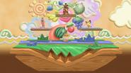 SSBU Yoshi's Island 64 (Battlefield)