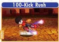 100-Kick Rush