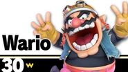 30 Wario – Super Smash Bros