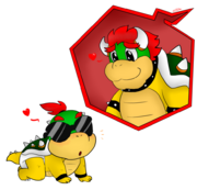 Baby bowser jr being cute by natsuko the mun-dbf5uy9