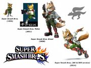 Fox McCloud (Super Smash Bros. Evolution)