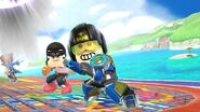 Mii Fighter in Delfino Plaza