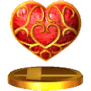 SSB3DS Heart Container Trophy