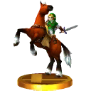 SSB3DS Link and Epona Trophy