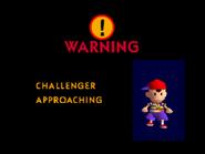 Challenger Approaching Ness(SSB)