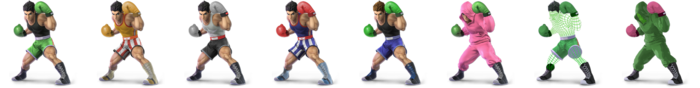 Little Mac Palette (SSBU)