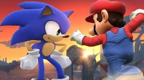 Super Smash Bros 4 Characters Sonic Trailer (WII U 3DS Gameplay) 【All HD】