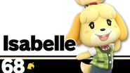 68 Isabelle – Super Smash Bros