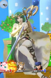 Palutena screen KO