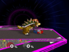 Bowser Down throw SSBM