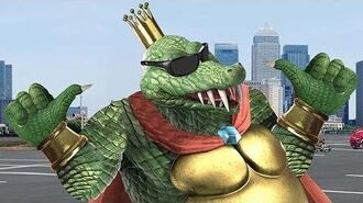 King K. Rool for Smash (unexpected)