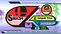 Wii U Main Menu