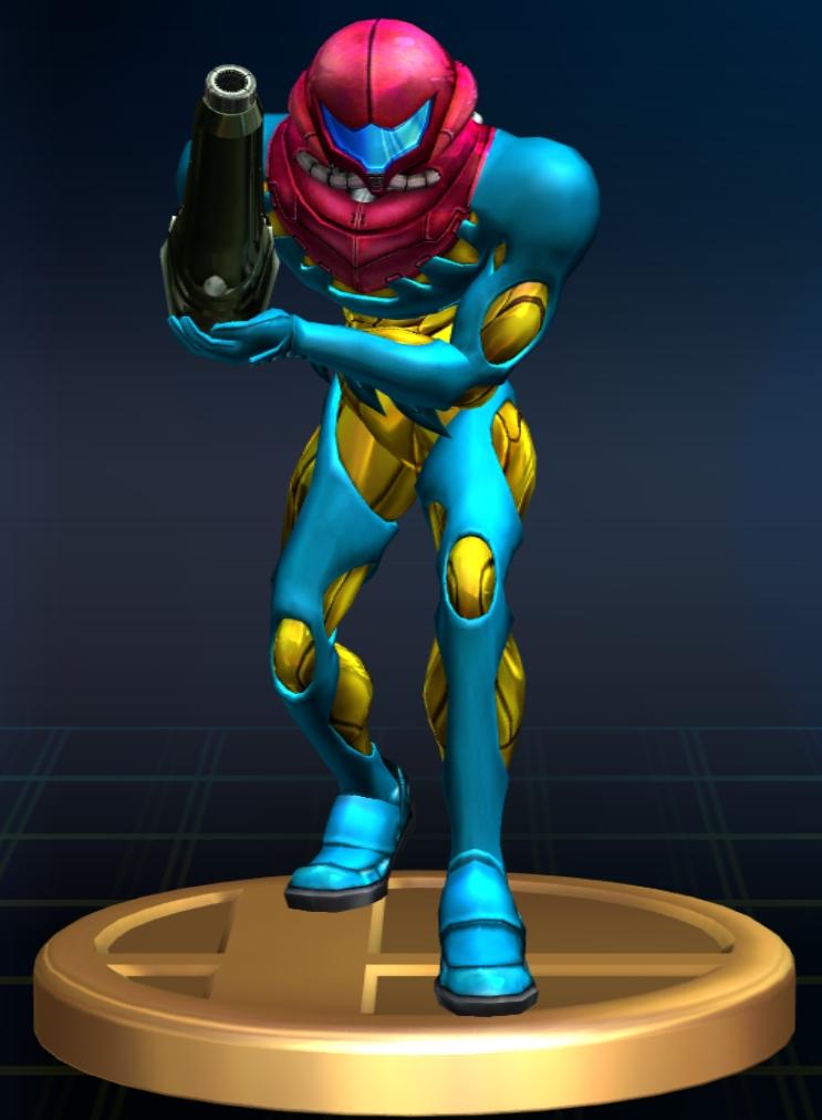 Trophy Samus Fusion Suit