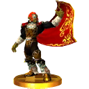 SSB3DS Ganondorf (Ocarina of Time) Trophy