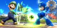 Luigi & Mega Man SSB4