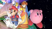 Mario Daisy and Kirby