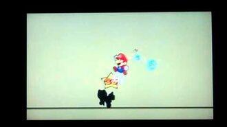 Super Paper Mario Shadoo Boss Battle