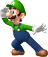 Luigi Artwork - Mario Party 8