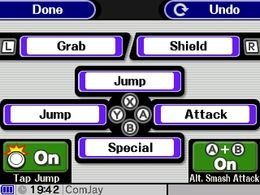 SSB3DS Controls