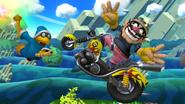 SSB4-Wii U Congratulations Wario Classic