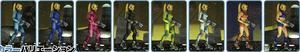 SSB4-Zero Suit Samus Palette 001