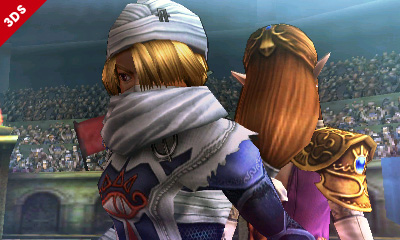 Sheik Super Smash Bros 4