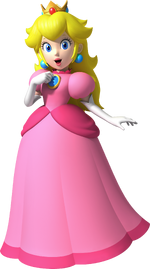Peach Artwork - NSMBWii