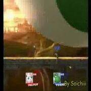 Yoshi Eats Giant Jigglypuff