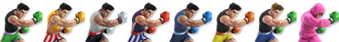 Little Mac Palette (SSB4)