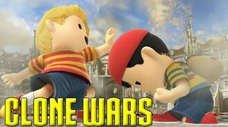 Clone Wars Ness VS. Lucas (The Differences)