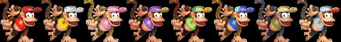 Diddy Kong Palette (SSB4)