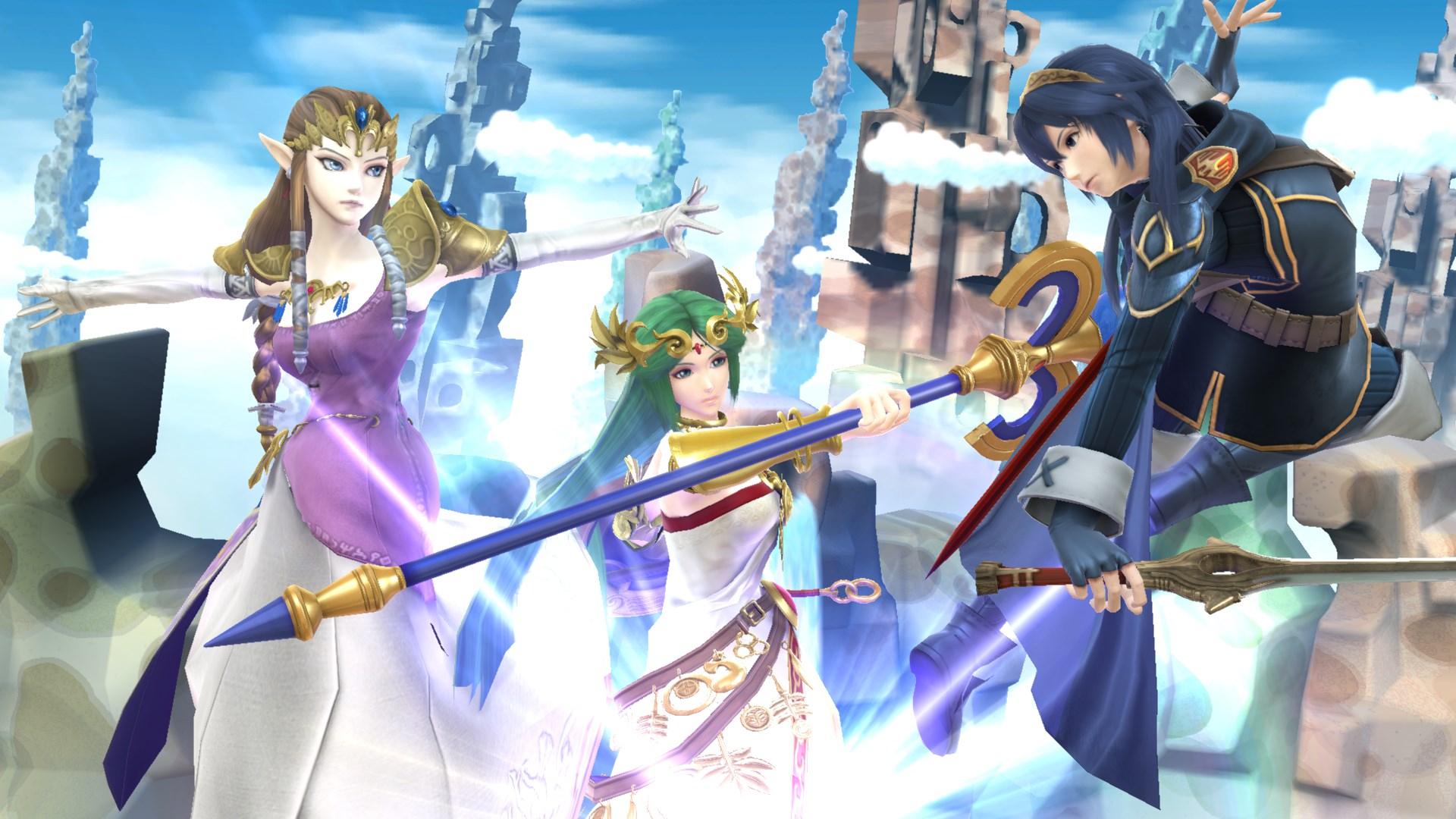 Image - Zelda-palutena-lucina.jpg | Smashpedia | FANDOM ...