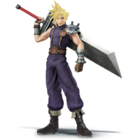 Cloud - Super Smash Bros. for Nintendo 3DS and Wii U