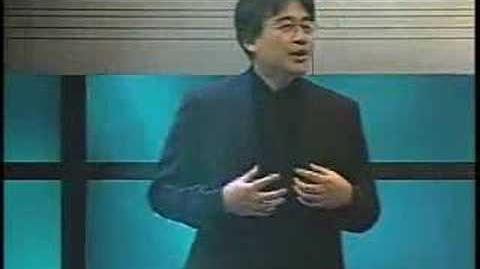 Satoru Iwata presentation E3 2005