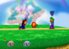 Fireball Mario (SSB)