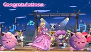 Jigglypuff Congratulations Screen All-Star Brawl