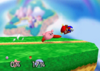 Kirby Forward smash SSB