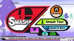 Smash Bros Wii U Main Menu
