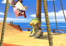 Spin Attack Toon Link
