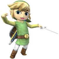 Toon Link - Super Smash Bros. Brawl