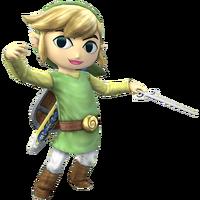 Toon Link - Super Smash Bros. Brawl