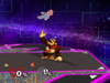 Donkey Kong Up throw SSBM