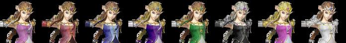 Zelda Palette (SSB4)