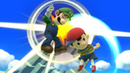 Ness really has it in for Luigi
