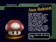 Poison Mushroom SSBM