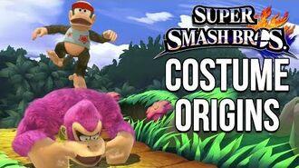 Super Smash Bros. Costume Origins - Donkey Kong Series, Yoshi, Wario, Little Mac
