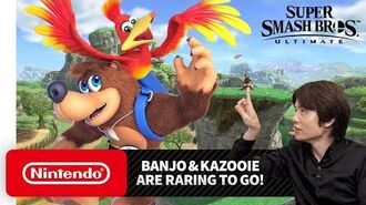 "Super Smash Bros. Ultimate – Mr. Sakurai Presents ""Banjo & Kazooie"""