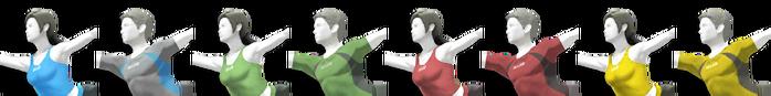Wii Fit Trainer Palette (SSB4)