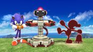 Game & Watch, R.O.B., and Sonic
